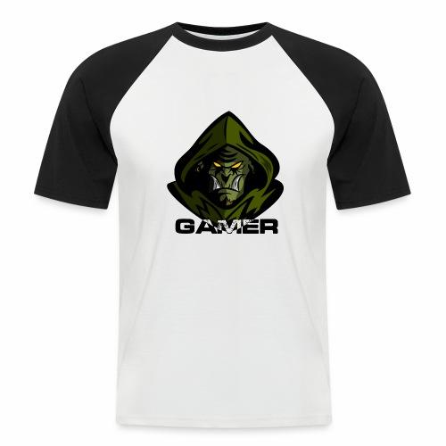 Orco Gamer - Camiseta béisbol manga corta hombre