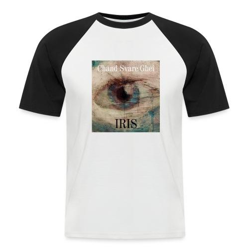 Iris - Kortermet baseball skjorte for menn