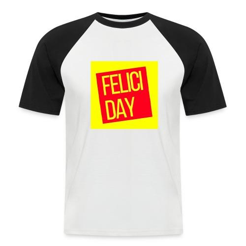 Feliciday - Camiseta béisbol manga corta hombre