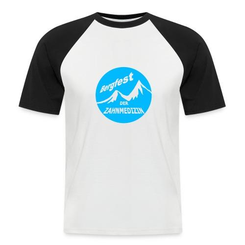 Bergfest der Zahnmedizin - Männer Baseball-T-Shirt