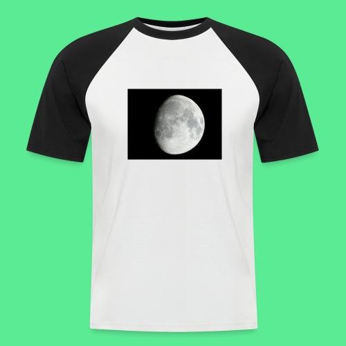 The moon - Men's Baseball T-Shirt