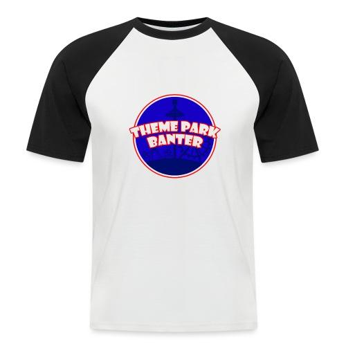 theme park banter logo - Men's Baseball T-Shirt