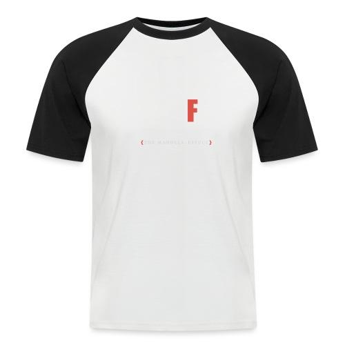 Shift Happens red F - Männer Baseball-T-Shirt