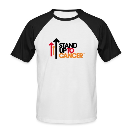 stand up to cancer logo - Men's Baseball T-Shirt