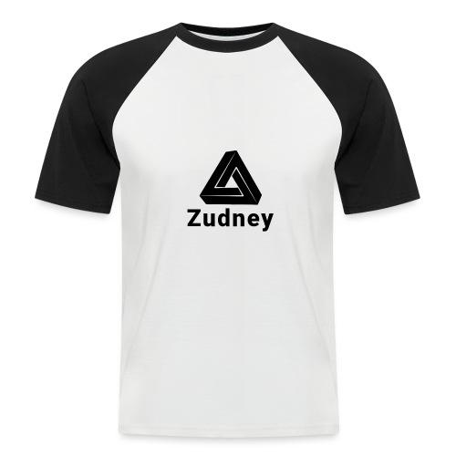Zudney - Kortermet baseball skjorte for menn