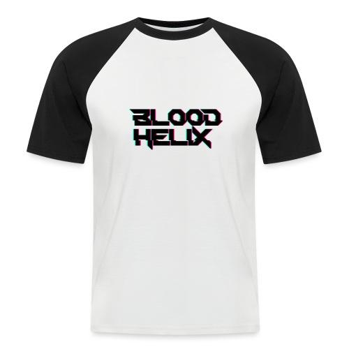 Logo Blood Helix - Koszulka bejsbolowa męska