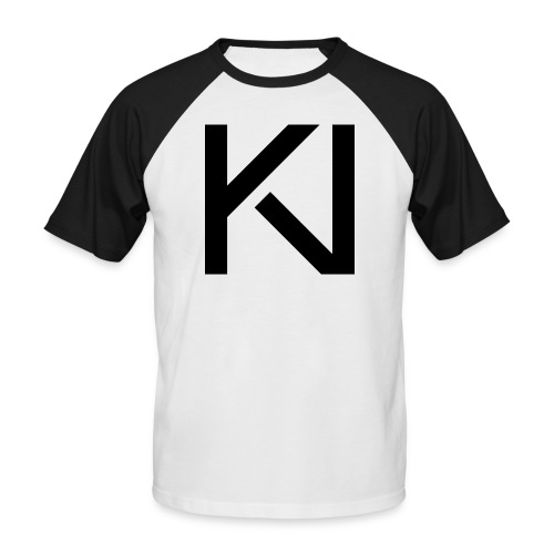 KV LogoB png - Men's Baseball T-Shirt