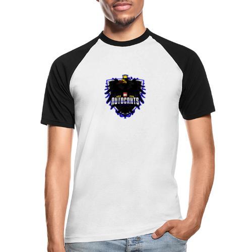 AUTocrats blue - Männer Baseball-T-Shirt