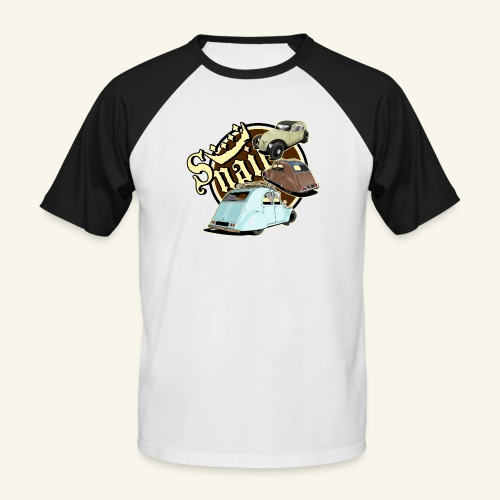 Snails - T-shirt baseball manches courtes Homme