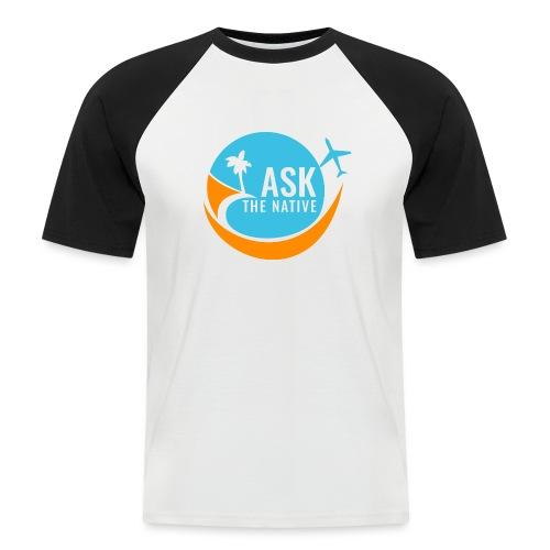 Ask the Native Original Logo - Mannen baseballshirt korte mouw