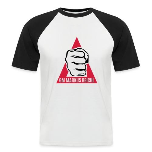 HK-RYU Faust - Männer Baseball-T-Shirt