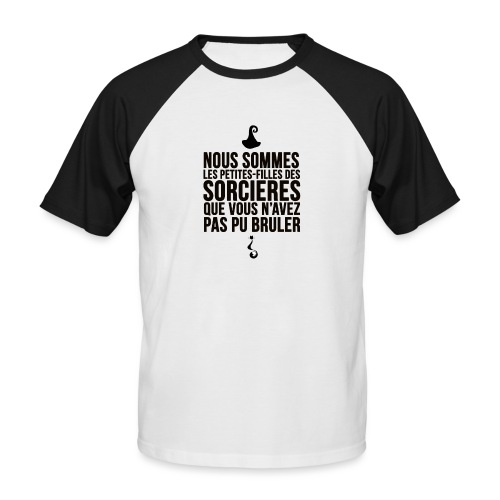 filles de sorcières - T-shirt baseball manches courtes Homme