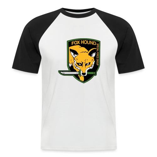 Fox Hound Special Forces - Miesten lyhythihainen baseballpaita