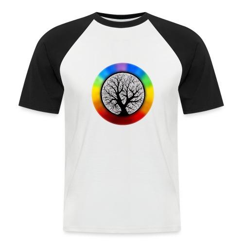 tree of life png - Mannen baseballshirt korte mouw