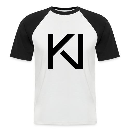 KV LogoB png - Men's Baseball T-Shirt