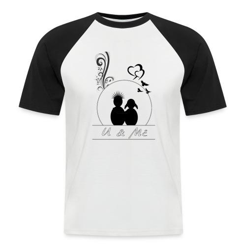 love couple - Men's Baseball T-Shirt