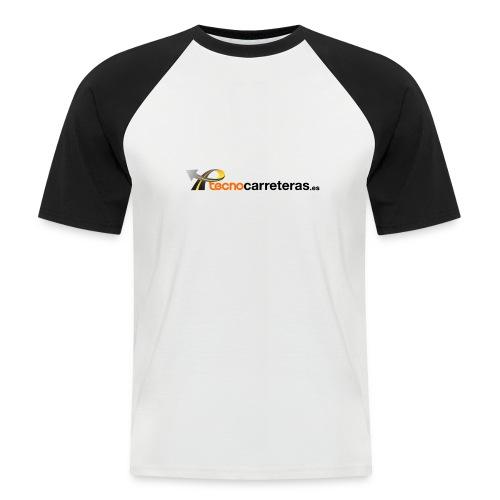 Tecnocarreteras - Camiseta béisbol manga corta hombre