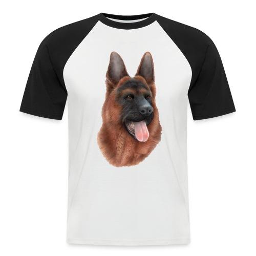 PERRO SIN FONDO - Camiseta béisbol manga corta hombre