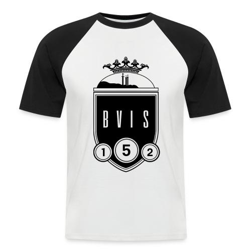bvisLOGO png - Men's Baseball T-Shirt
