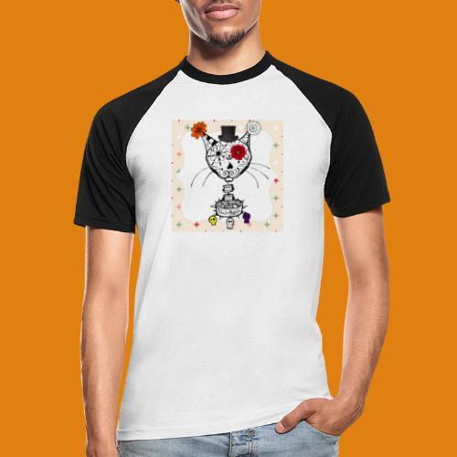 cat color - Men's Baseball T-Shirt