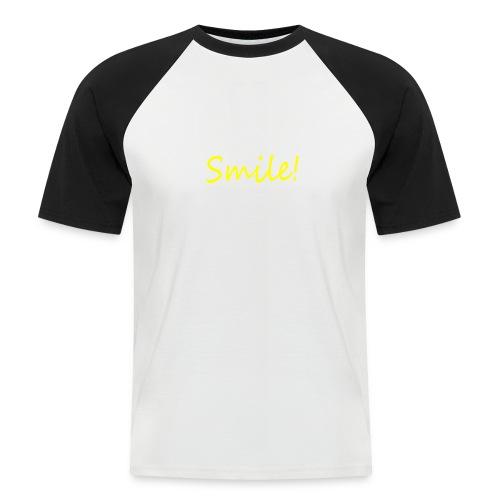 Smile for Sex - Männer Baseball-T-Shirt