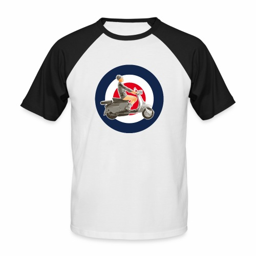 Scooter girl - T-shirt baseball manches courtes Homme