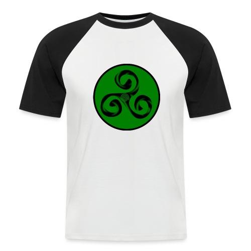 Triskel and Spiral - Camiseta béisbol manga corta hombre