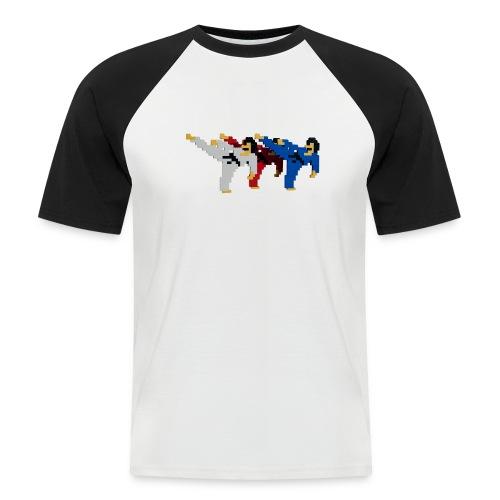 8 bit trip ninjas 2 - Men's Baseball T-Shirt
