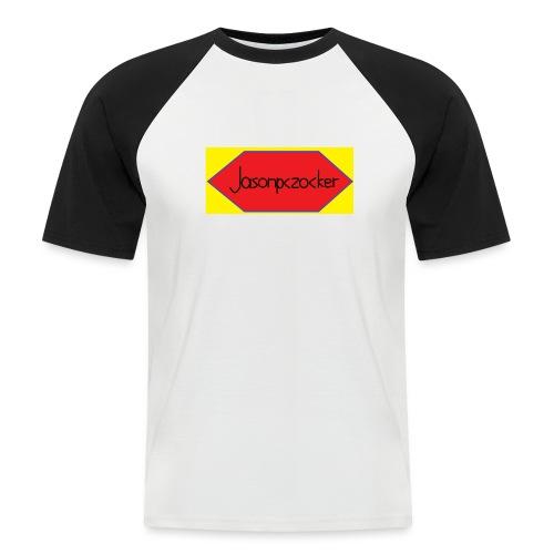 Jasonpczocker Design für gelbe Sachen - Männer Baseball-T-Shirt