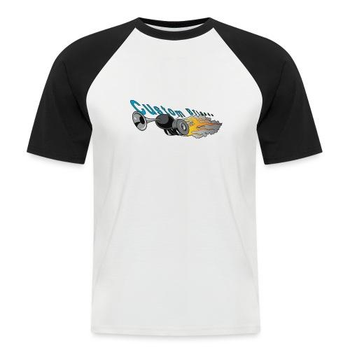 trompettecb - T-shirt baseball manches courtes Homme