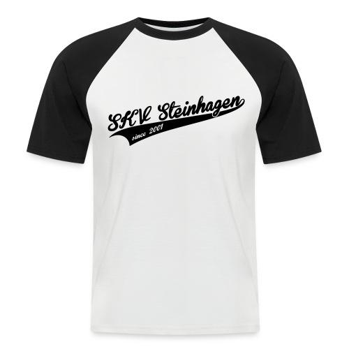 SKV Schriftzug - Männer Baseball-T-Shirt