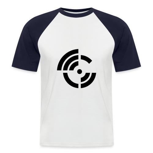 electroradio.fm logo - Men's Baseball T-Shirt