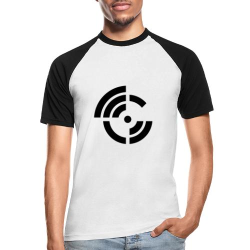 electroradio.fm logo - Men's Baseball T-Shirt