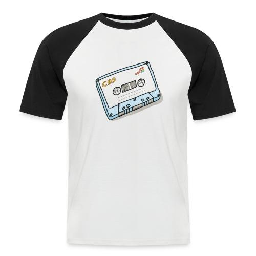 Cassette - Männer Baseball-T-Shirt