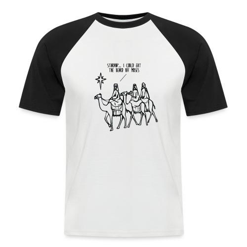 threewise1 png - Men's Baseball T-Shirt