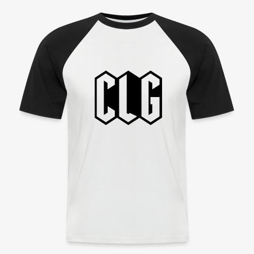 CLG DESIGN black - T-shirt baseball manches courtes Homme
