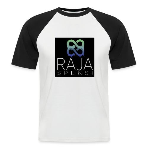 RajaSpeksin logo - Miesten lyhythihainen baseballpaita