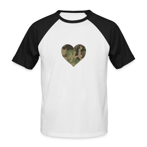 CamoHearth - Koszulka bejsbolowa męska