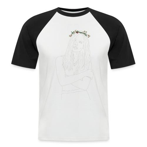 Flower - Men's Baseball T-Shirt