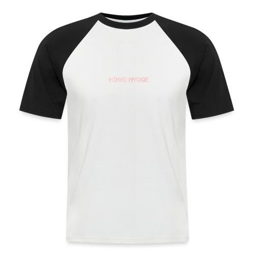 Standard homo hygge logo - Kortærmet herre-baseballshirt