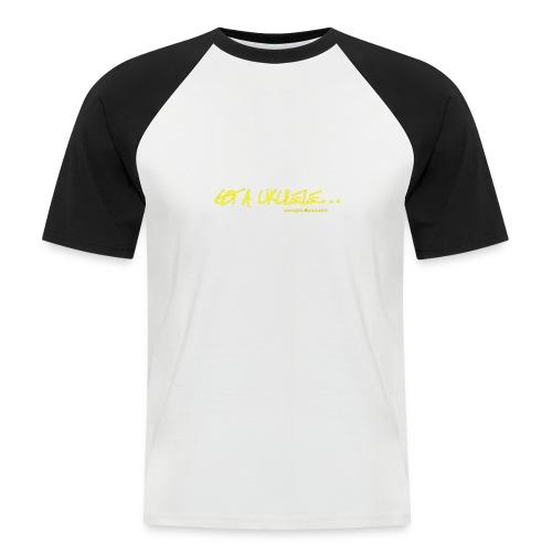 Official Got A Ukulele website t shirt design - Men's Baseball T-Shirt