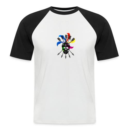 Blaky corporation - Camiseta béisbol manga corta hombre