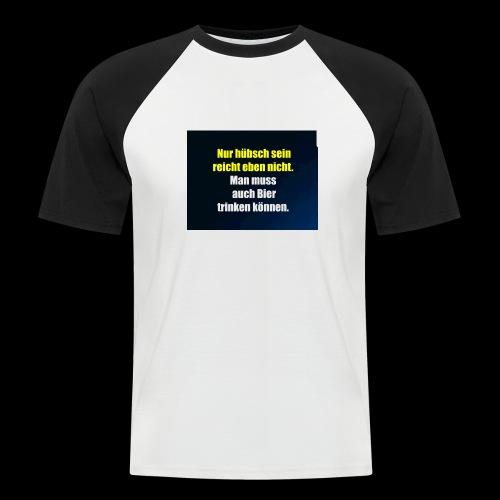 Bierlovers - Männer Baseball-T-Shirt