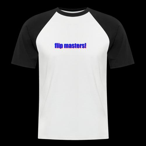 sappig - Mannen baseballshirt korte mouw