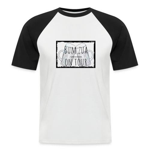 Bum zua on Tour - Männer Baseball-T-Shirt