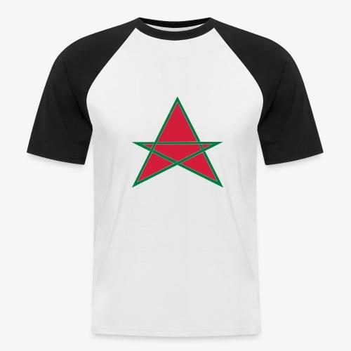dessin 7 - T-shirt baseball manches courtes Homme