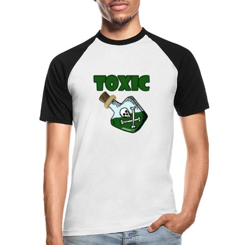 Toxic Gaming - Männer Baseball-T-Shirt