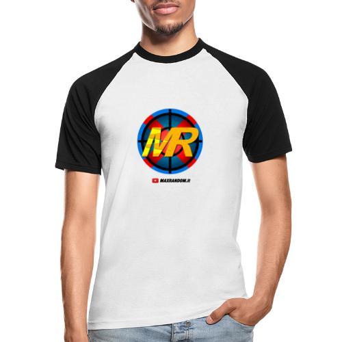 Logo MR - Maglia da baseball a manica corta da uomo