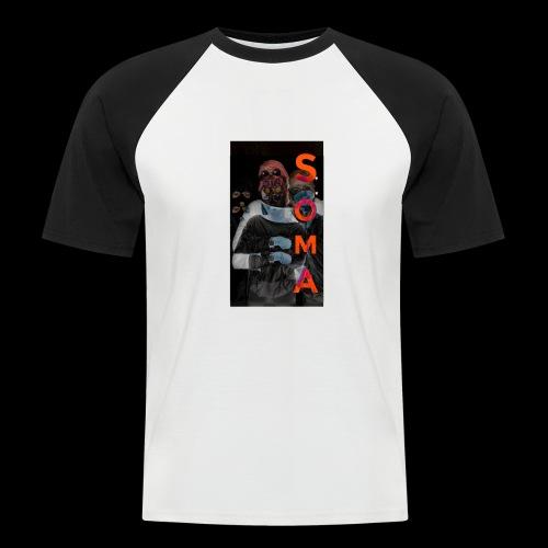S O M A // Design - Mannen baseballshirt korte mouw