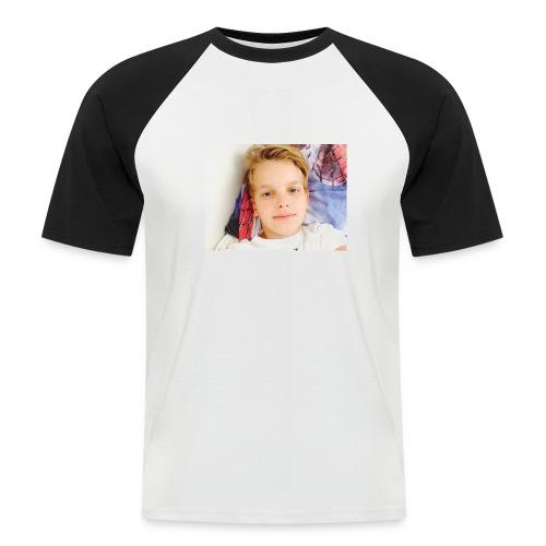 first design - Kortærmet herre-baseballshirt